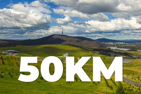 National Arboretum Ultra Running Trails Stromlo 50km