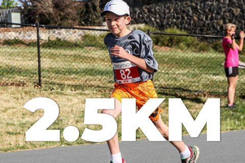 Kids Running Trail Stromlo Deeks Track 2km